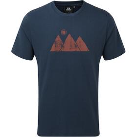 Mountain Equipment Mountain Sun T-shirt Heren, blauw